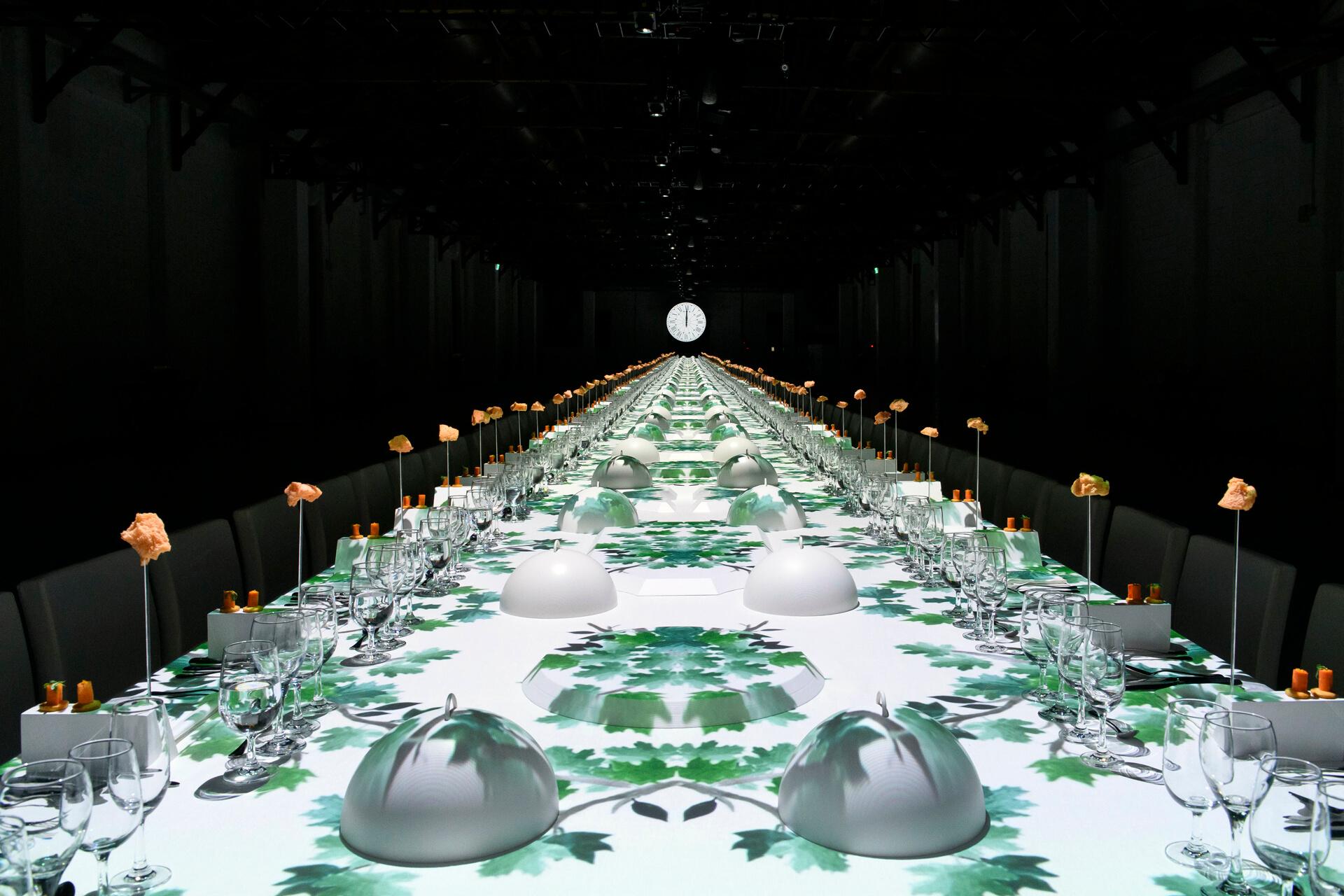 Dîner Hermès Taïwan